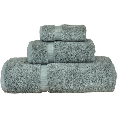 Luxury Hotel and Spa 3 Piece Towel Set Color: Gray