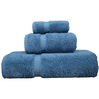 Luxury Hotel and Spa 3 Piece Towel Set Color: Wedgewood