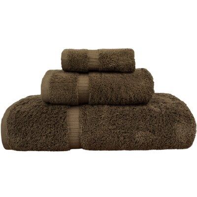 Orchid 3 Piece Towel Set Color: Cocoa