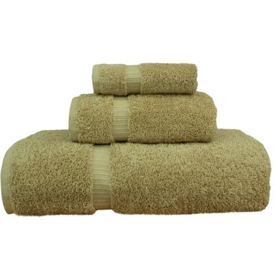 Orchid 3 Piece Towel Set Color: Driftwood