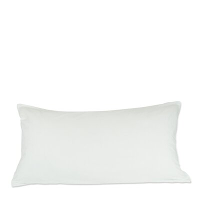 Plain Zipper Pillow Protector Size: King