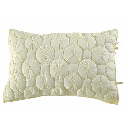 Dream Waltz Pillow Sham Size: Euro, Color: Ivory