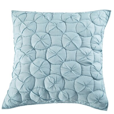 Dream Waltz Pillow Sham Size: Standard, Color: Pacific Blue