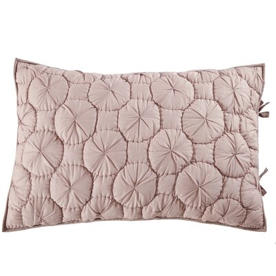 Dream Waltz Pillow Sham Size: Standard, Color: Light Marsala
