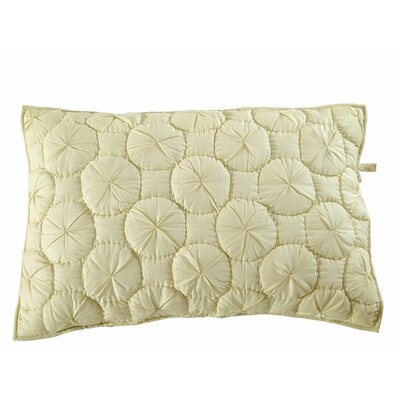 Dream Waltz Pillow Sham Size: Euro, Color: Celadon Green