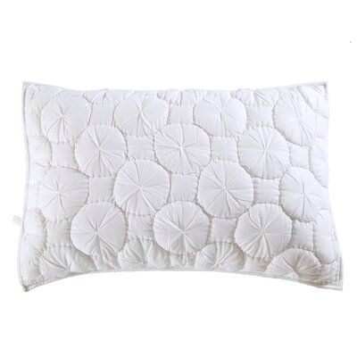 Dream Waltz Pillow Sham Size: Euro, Color: White