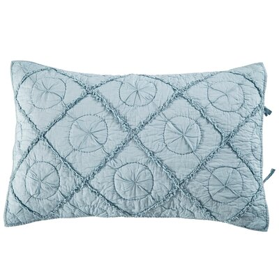 Country Idyl Pillow Sham Size: Standard, Color: Pacific Blue