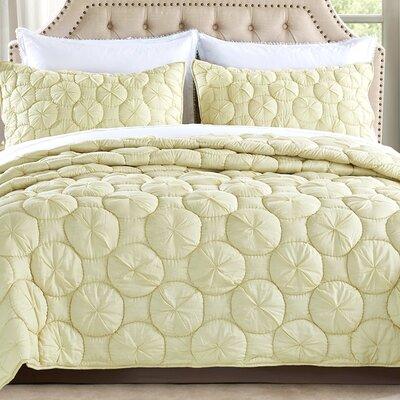Dream Waltz Quilt Size: Queen, Color: Celadon Green