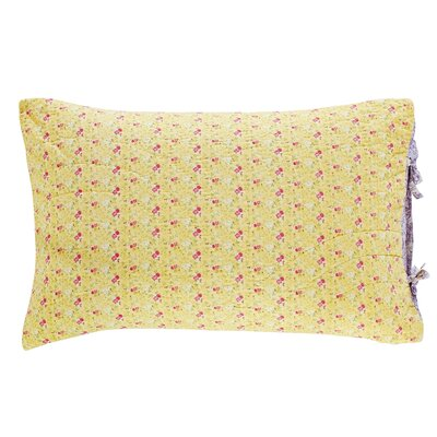 Fairview Patchwork Standard Sham Color: Yellow