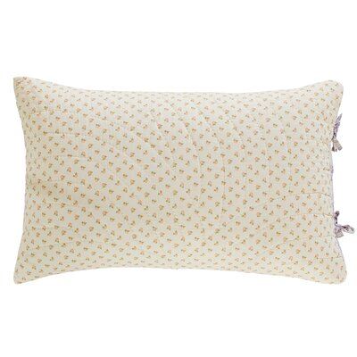 Fairview Patchwork Standard Sham Color: White