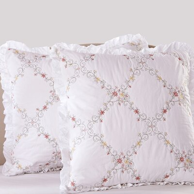 Orchard Mist Pillow Sham Size: Euro