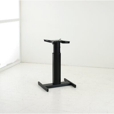 Adjustable Height Standing Desk Conversion Unit Finish: Black
