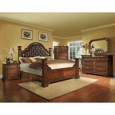 Highland Ridge Panel Customizable Bedroom Set
