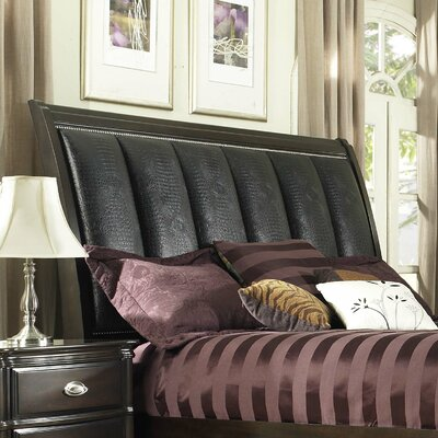 Balmers Upholstered Sleigh Headboard Size: King
