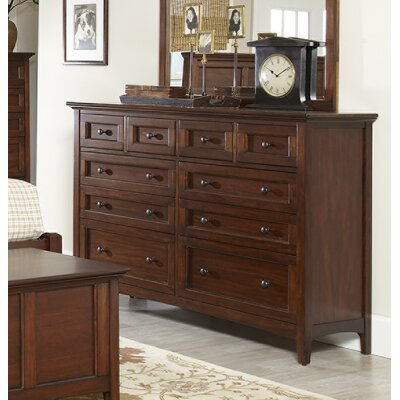 Beacon Street 10 Drawer Double Dresser