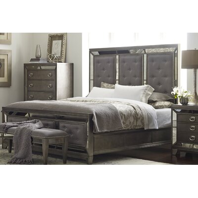 Roxie Upholstered Panel Bed Size: Queen