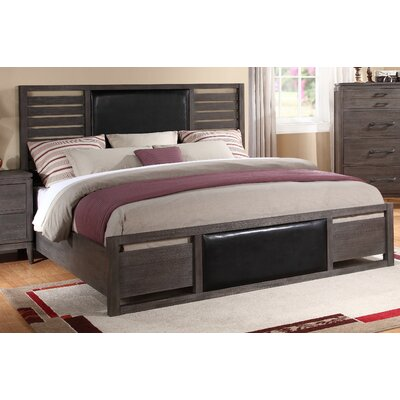 Archer Park Upholstered Platform Bed Size: King