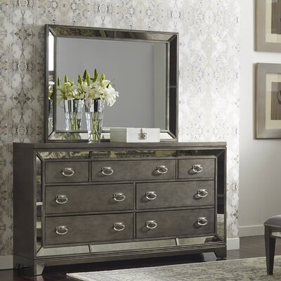 Aeryn 7 Drawer Dresser & Mirror