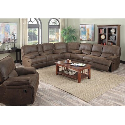 Powell Reclining Sectional