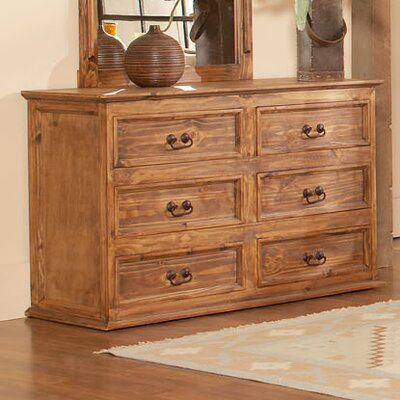 Capella 6 Drawer Dresser
