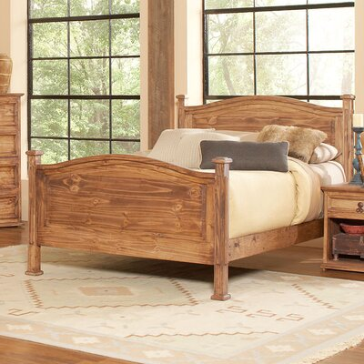 Capella Panel Bed Size: King