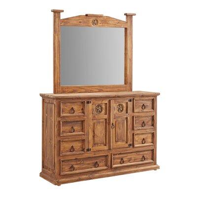Estrella Solitaria 8 Drawer Dresser