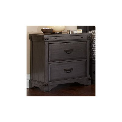Aspen Village 2 Drawer Nightstand