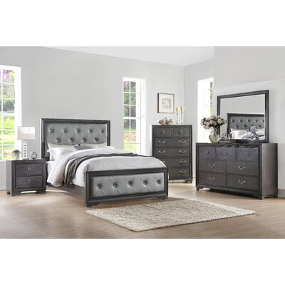 Florine Platform Configurable Bedroom Set