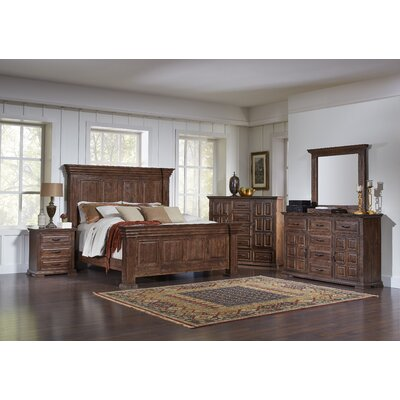 High Chaparral Sleigh Customizable Bedroom Set