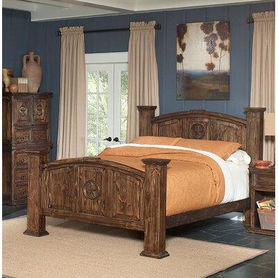Estrella Oscura Panel Bed