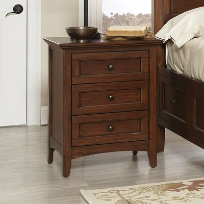 Beacon Street 3 Drawer Nightstand