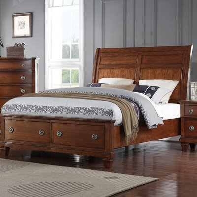 Camacho Storage Sleigh Bed Size: Queen