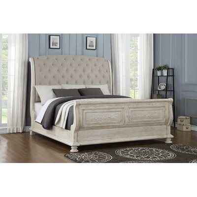 Piland Upholstered Sleigh Bed Size: Queen