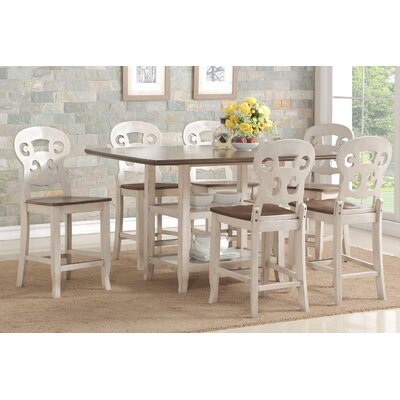 Castagna 7 Piece Pub Table Set