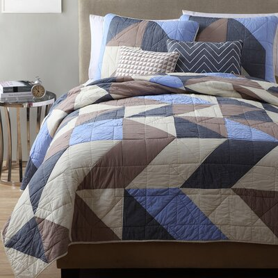 Estate Geri 5 Pieces Quilt Set Size: Full / Queen