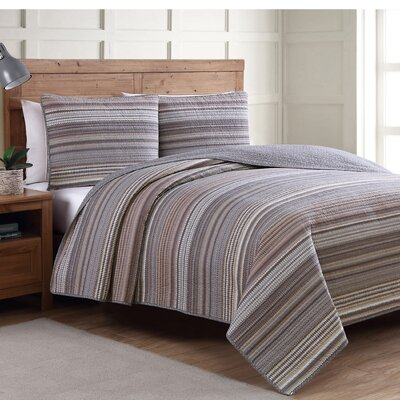 Estate Taj Reversible Quilt Set Size: Full/Queen