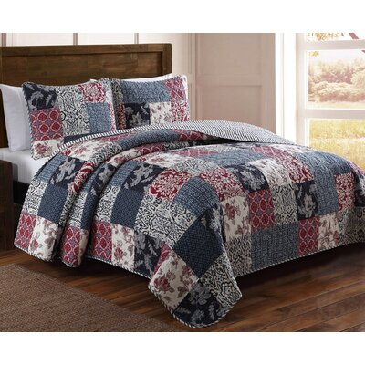 Estate Elizabeth Quilt Set Size: Twin