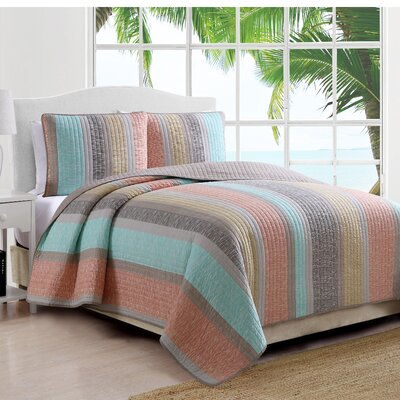 Estate Reversible Quilt Set Size: King