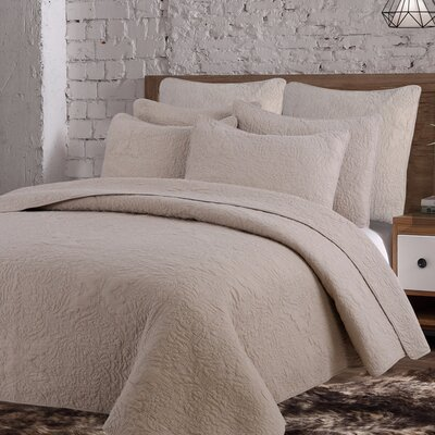 Breaux Cotton Quilt Set Size: Twin