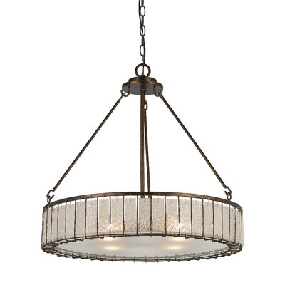 Johnsburg Ferrara 4-Light Drum Pendant