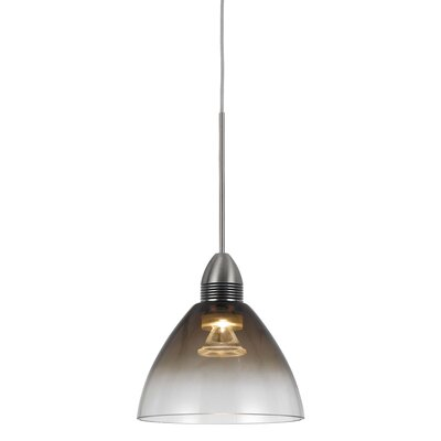 Winchester 1-Light Mini Pendant Base Finish: Smoke