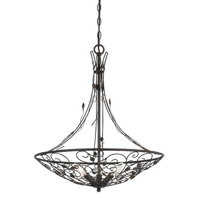 Susanna Varano 3-Light Bowl Chandelier