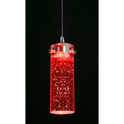 Williamstown Mini Pendant Light Shade Color: Red