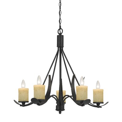 Mohamed 5-Light Candle-Style Chandelier
