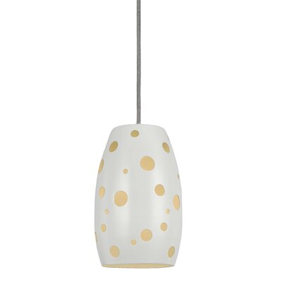 Colebrook Pendant Finish: White