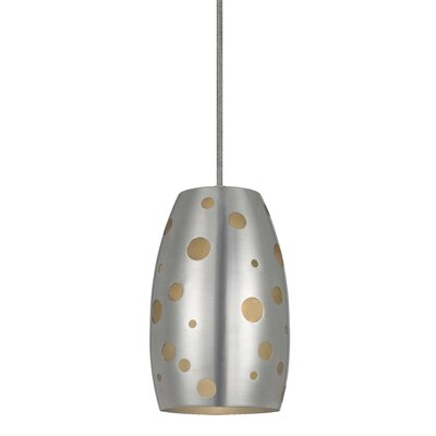 Colebrook Pendant Finish: Brushed Steel