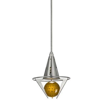 Sandra Pendant Shade Color: Amber