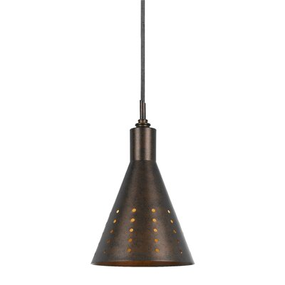 Chamberland Pendant Finish: Rust Finish