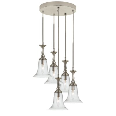 Briana 5-Light Cascade Pendant