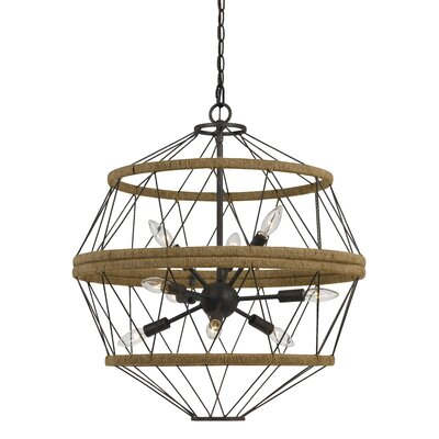 Burnett 9-Light Sputnik Chandelier
